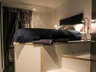 ibedi laboratorio di architettura Small bedroom Wood White