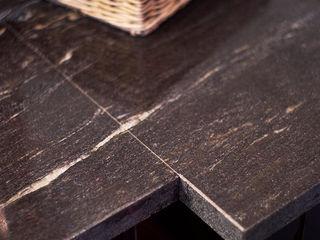 Blat łazienkowy z naturalnego granitu GRANMAR Borowa Góra - granit, marmur, konglomerat kwarcowy ŁazienkaSzafki i półki łazienkowe Granit Czarny