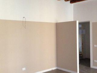 studiolineacurvarchitetti Classic style bedroom Metal Grey