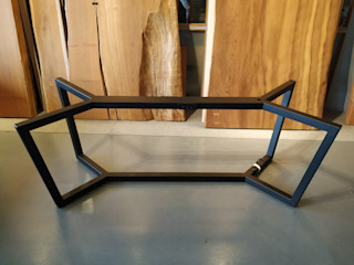 謝木木工作室 Study/officeDesks Solid Wood Black
