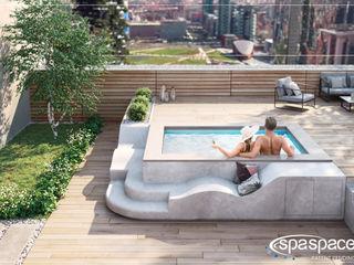 SpaSpace® è la piscina ideale per il tuo terrazzo Aquazzura Piscine Vasche idromassaggio
