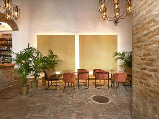 Antonio Calzado 'NEUTTRO' Diseño Interior Rustic style living room Wood effect
