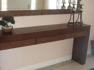 LK Engenharia e Arquitetura 經典風格的走廊,走廊和樓梯