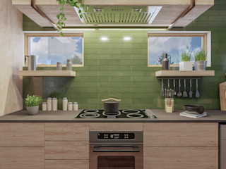 g Deborah Garth Interior Design International (Pty)Ltd 現代廚房設計點子、靈感&圖片