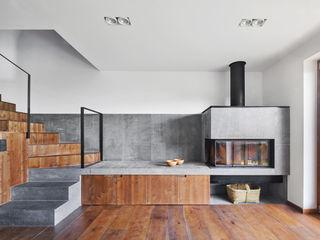Vallribera Arquitectes Rustikale Wohnzimmer
