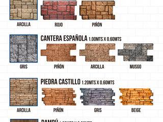 EL CÉSAR DISEÑO EN ACABADOS Y DECORACIÓN 벽 & 바닥벽 & 바닥 커버 돌