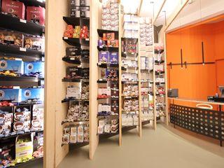 ibedi laboratorio di architettura Offices & stores Iron/Steel Orange