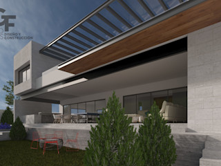 GF ARQUITECTOS Moderne huizen
