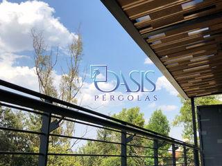 Oasis Pérgolas Balkon, Beranda & Teras Minimalis