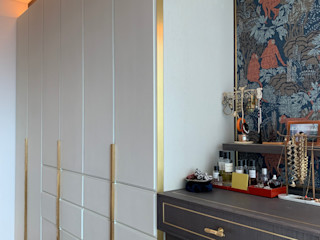 Private Residence   Azura   Mid-Levels, Hong Kong KMok Consulting Limited Small bedroom