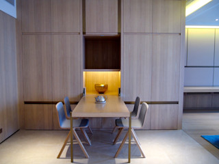 Private Residence   Celestial Heights   Ho Man Tin, Hong Kong KMok Consulting Limited Dining roomTables