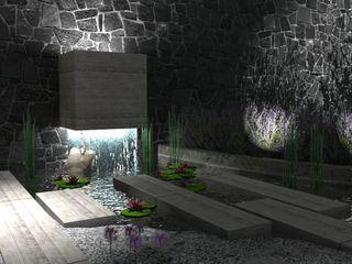 Ambiente Arquitectos Asociados, S.A de C.V. Lagos e Lagoas de jardins