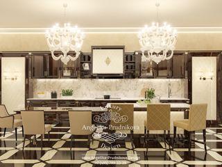 Дизайн-студия элитных интерьеров Анжелики Прудниковой Modern kitchen