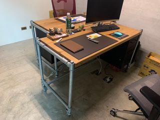 謝木木工作室 Study/officeDesks Iron/Steel Orange