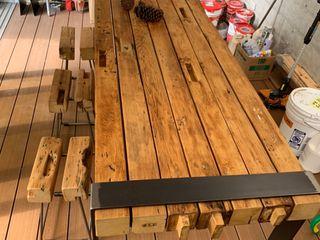 謝木木工作室 Study/officeDesks Wood Orange
