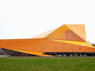 MAIPLATZ FOTOGRAFIE 現代房屋設計點子、靈感 & 圖片 Orange