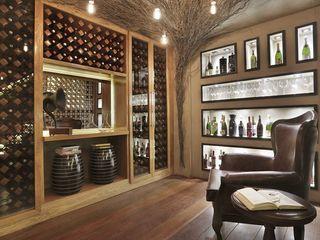 D arquitetura Bodegas de vino de estilo moderno