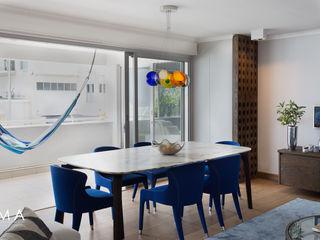 Jenny Mills Architects Salle à manger moderne