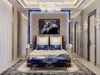 Дизайн-студия элитных интерьеров Анжелики Прудниковой Modern style bedroom