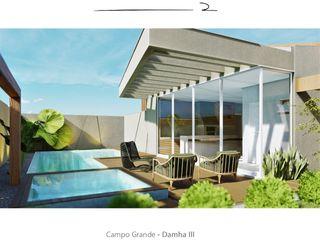 D arquitetura Piscinas de jardín