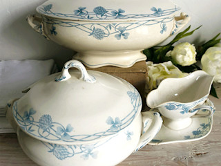 Maisondora Vintage Living KeukenBestek, servies & glaswerk Keramiek Wit