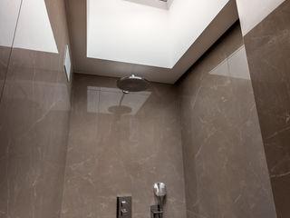 CONSCIOUS DESIGN - INTERIORS 浴室 磁磚 Beige
