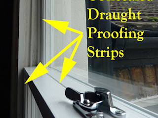 Recondition Traditional Sash Windows & Fit Draught Excluder Sash Window Specialist