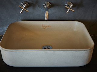 Umywalka z betonu V_2 Artis Visio ŁazienkaUmywalki Beton Szary