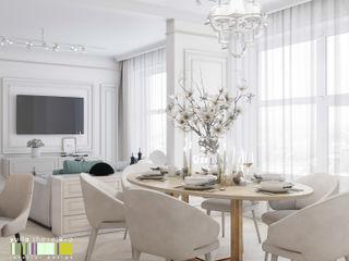 Мастерская интерьера Юлии Шевелевой Eclectic style dining room