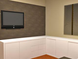 LK Engenharia e Arquitetura 臥室