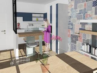 OrBiTa - Architettura oltre lo spazio مطبخ