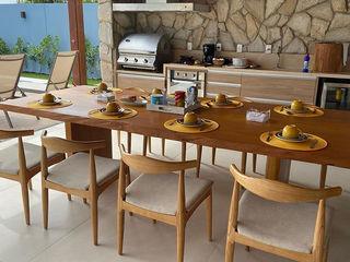 Camacã Design em Madeira Balconies, verandas & terraces Furniture Solid Wood