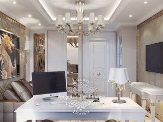 Дизайн-студия элитных интерьеров Анжелики Прудниковой Classic style study/office