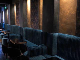 Kwan's Palette Limited Modern walls & floors Limestone Amber/Gold