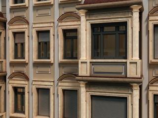 Blaurock GmbH Modern Windows and Doors Grey
