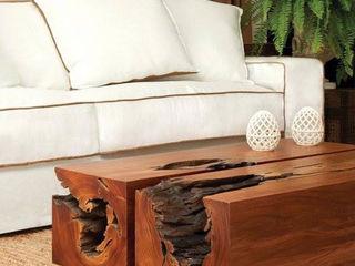 Camacã Design em Madeira Living roomTV stands & cabinets Solid Wood
