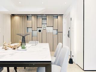 A Square Ltd Modern dining room Wood Wood effect