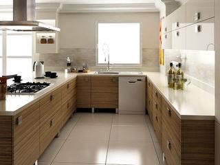 levent tekin iç mimarlık Кухня в стиле модерн