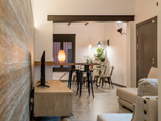 Antonio Calzado 'NEUTTRO' Diseño Interior Eclectic style living room Ceramic Grey