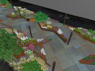 Urban Flow Rosin Manuel Garden deSign Giardino moderno