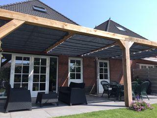 ZONZ sunsails Balcon, Veranda & TerrasseAccessoires & décorations Plastique Gris