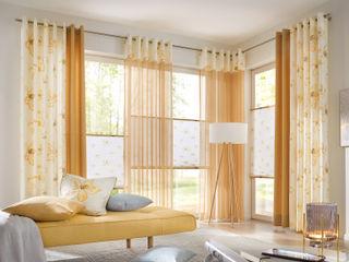 UNLAND International GmbH 窗戶與門窗廉與布簾 布織品 Yellow