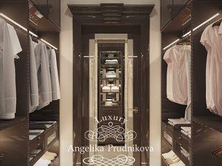 Дизайн-студия элитных интерьеров Анжелики Прудниковой Classic style dressing room