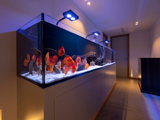 Acquario a parete MELIK LUXURY Aquarium SoggiornoAccessori & Decorazioni