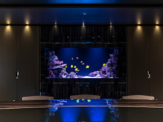 Acquario Marino MELIK LUXURY Aquarium Sala da pranzoAccessori & Decorazioni