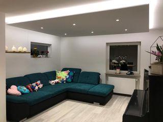 DSHP Gebäudeautomation und Energie GmbH Modern living room