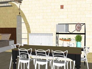 Ristrutturazione casolare Gioia del Colle ROSA CARBONE DESIGN Cucina moderna