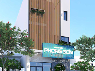Thiết kế nhà phố hiện đại 3 tầng kết hợp kinh doanh phòng khám NEOHouse