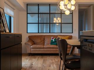 yuukistyle 友紀建築工房 Modern living room