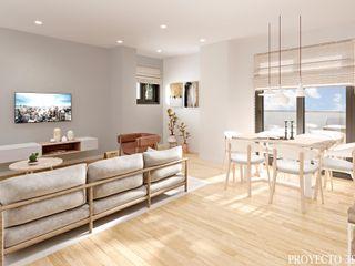 Renders para promoción de viviendas de obra nueva Proyecto 3D Valencia Renders Animaciones 3D Infografias Online SalonesAccesorios y decoración